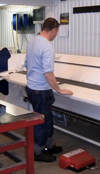 Proffs på papptak och plåtslageriarbeten, sedumak, papptak tätskikt takläggare takpapp pvc-duk