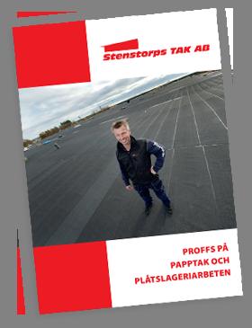 Mer bilder på att vi är Proffs på papptak och plåtslageriarbeten, sedumak, papptak tätskikt takläggare takpapp pvc-duk